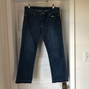 Banana Republic Flare Crop Jeans